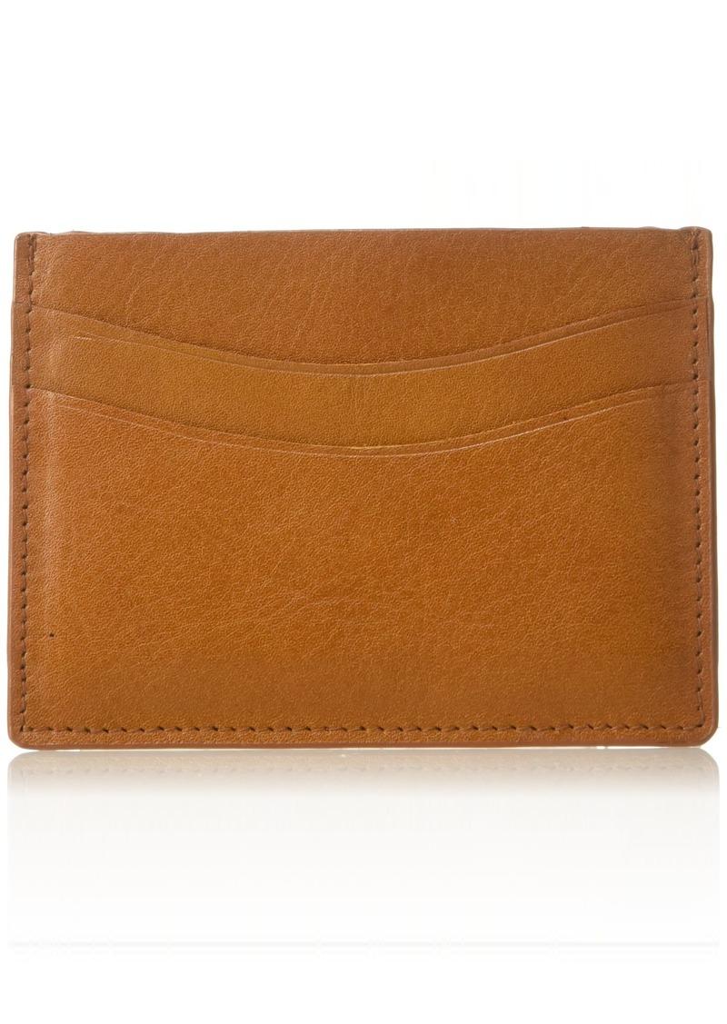 Florsheim Men's Slim Card Holder tan  M
