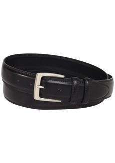 Florsheim Men's Smooth Grain Padded Leather Belt 32MM