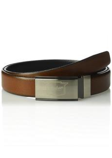 Florsheim Men's Sorrento Reversible Belt black/Cog
