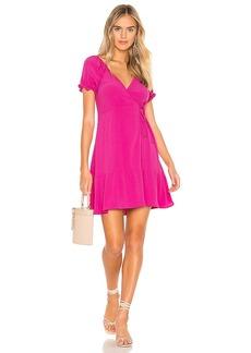 FLYNN SKYE Annabelle Wrap Mini Dress