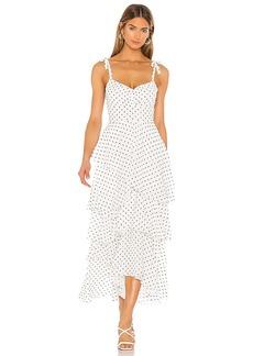 FLYNN SKYE Leona Midi Dress