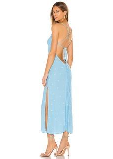 FLYNN SKYE Saturdaze Midi Dress