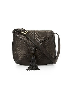 Foley + Corinna Arrow Large Leather Crossbody Bag