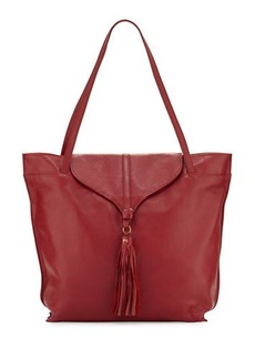 Foley + Corinna Arrow Leather Tassel Tote Bag