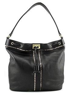 Foley + Corinna Becker Shoulder Bag,Black/Serpentine,One Size