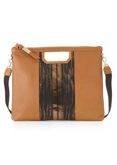 Foley + Corinna Beholden Leather Convertible Tote Bag
