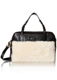 Foley + Corinna Cable Satchel Top Handle Bag