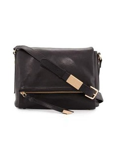 Foley + Corinna Charli Leather Messenger Bag