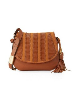 Foley + Corinna Charlotte Leather Saddle Bag
