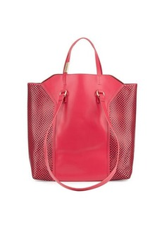 Foley + Corinna Clio Laser-Cut Leather Tote Bag