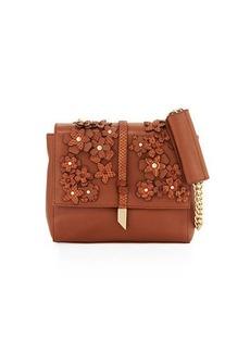 Foley + Corinna Dahlia Flower Chain Shoulder Bag