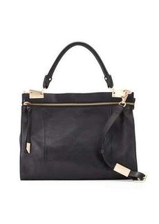 Foley + Corinna Dione Leather Messenger Bag