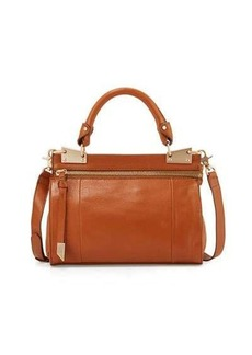 Foley + Corinna Dione Leather Messenger Bag