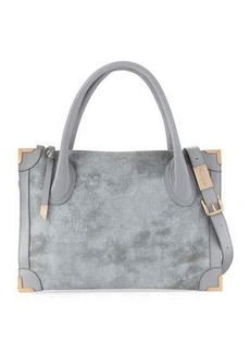 Foley + Corinna Frankie Distressed Leather Satchel Bag