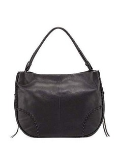 Foley + Corinna Isla Stitched Leather Hobo Bag