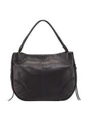 Foley + Corinna Isla Stitched Leather Hobo Bag