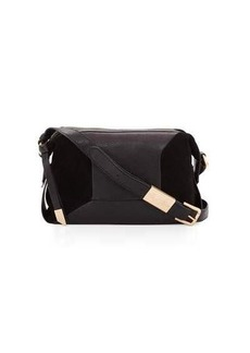 Foley + Corinna Kate Leather/Suede Combo Crossbody Bag