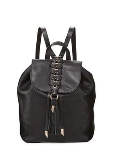 Foley + Corinna La Trenza Leather Backpack