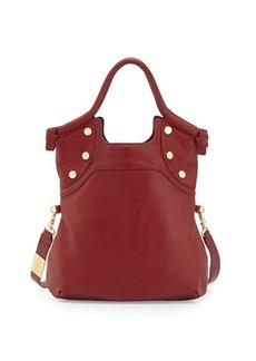 Foley + Corinna Lady Fold-Over Leather Tote Bag