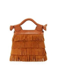 Foley + Corinna Sasha Tiny City Suede Fringe Bag