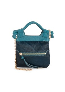 Foley + Corinna Tiny City Leather Crossbody Bag