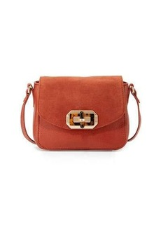 Foley + Corinna Whitney Leather/Suede Combo Crossbody Bag