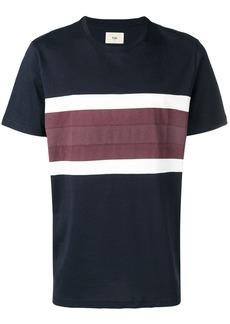 Folk Clothing stripe detail T-shirt