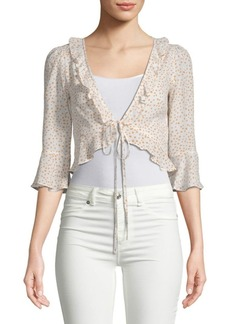 For Love & Lemons Aurora Star Tie Top