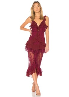 Daphne Lace Midi Dress