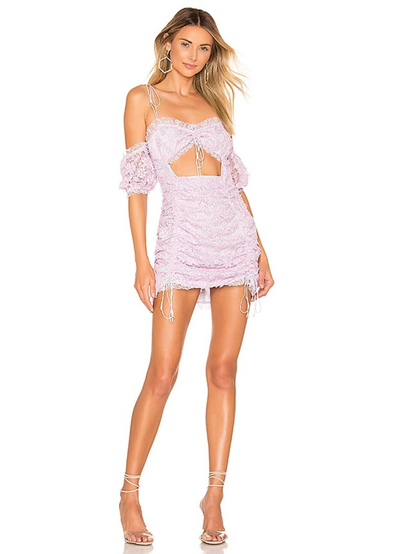 For Love & Lemons Amalie Mini Dress