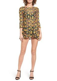 For Love & Lemons Amelia Sheer Minidress