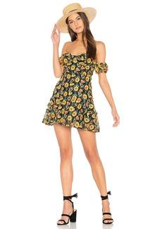 Amelia Strapless Mini Dress