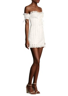 Anabelle Eyelet Lace Dress