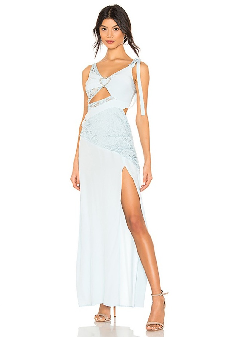 For Love & Lemons Antoinette Maxi Dress