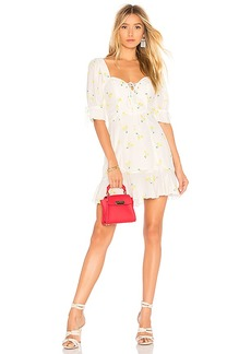 For Love & Lemons Ashland Lace Up Dress