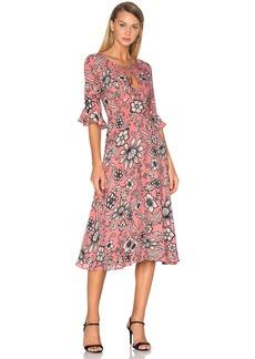 For Love & Lemons Ayla Midi Dress
