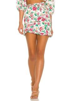 For Love & Lemons Becca Mini Skirt