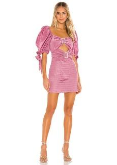 For Love & Lemons Bijoux Moire Mini Dress