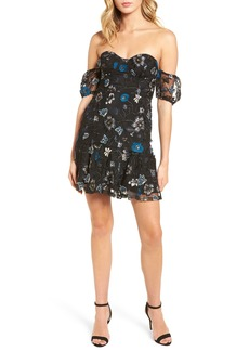 For Love & Lemons Bontanic Off the Shoulder Dress