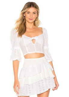 For Love & Lemons Bora Bora Blouse