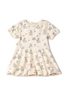 For Love & Lemons Buttercup Knit Dress in Beige. - size 2T (also in 3T,4T,6)