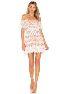 For Love & Lemons Cadence Off The Shoulder Dress