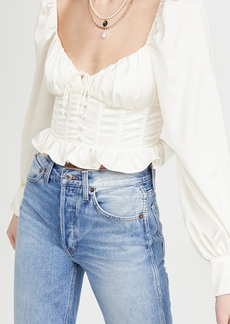 For Love & Lemons Carina Blouse