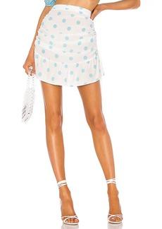 For Love & Lemons Caroline Mini Skirt