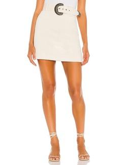 For Love & Lemons Carson Mini Skirt