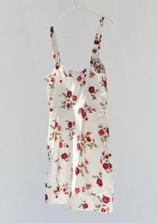 For Love & Lemons Cassidy Floral Mini Dress