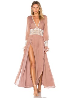 For Love & Lemons Celine Maxi Dress