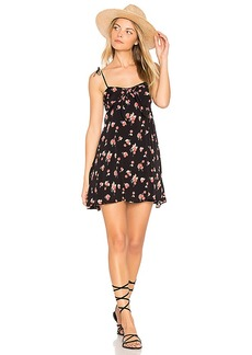 For Love & Lemons Cherry Tank Dress in Black. - size L (also in M,S,XS)