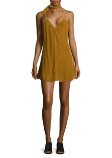 For Love & Lemons Colette V-Neck Dress
