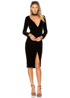 For Love & Lemons Collette Midi Dress